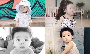 Instagram 'chất miễn bàn' của 4 nhóc Việt mới lẫm chẫm biết đi