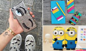 4 kiểu ốp điện thoại siêu dễ thương cho teen
