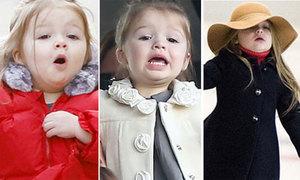 Những khoảnh khắc nhí nhố 'yêu không đỡ kịp' của Harper Beckham