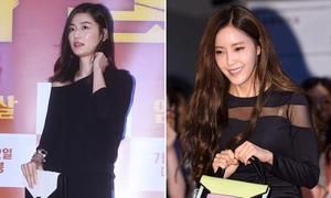 Jun Ji Hyun đẹp sang chảnh, Hyo Min mắc lỗi chọn bra