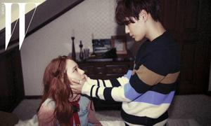 Bộ ảnh thân mật gây chú ý của Krystal, Kai, Tae Min