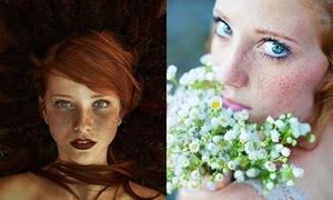 Bộ ảnh đẹp mê hoặc về những cô nàng tóc đỏ, mặt đầy tàn nhang