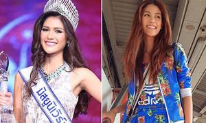 Xì tai siêu cá tính của Tân Hoa hậu Hoàn vũ Thái Lan
