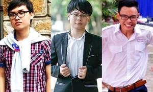 Ngưỡng mộ thành tích đỉnh của 3 chàng thủ khoa 'con nhà người ta'