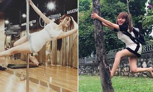 Sao Việt 31/7: Huyền Baby múa cột, Huyền Anh trèo cây so điệu nghệ