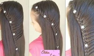 Học lỏm 19 kiểu tóc cực yêu từ các bé gái