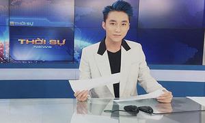 Clip: Sơn Tùng M-TP thử dẫn Thời sự cho VTV