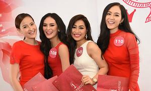 Ngọc Quý, Quỳnh Châu thi Hoa hậu hoàn vũ Việt Nam 2015
