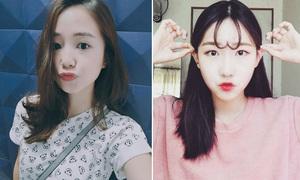 Kiểu tóc mái đang được con gái Hàn, Nhật, Việt mê nhất