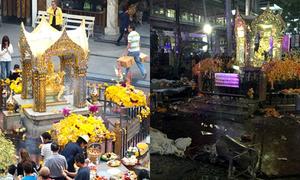 Bangkok trước và sau vụ nổ bom gây chấn động
