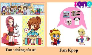 Sự khác biệt giữa fan Kpop và fan 'chẳng của ai'