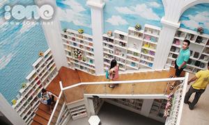 Hiệu sách ở Hà Nội dễ khiến bạn 'cháy máy' vì tự sướng