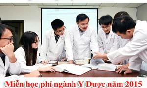 Miễn học phí trung cấp dược tại Hà Nội