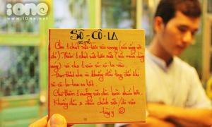 Quán cà phê siêu kool cho teen mê tự pha chế