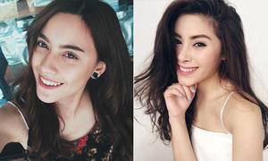 Phong cách trang điểm khó lẫn của các hot girl Thái