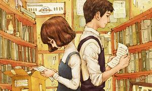 Bộ tranh 'Gửi tuổi thanh xuân' phiên bản manga kute hết cỡ