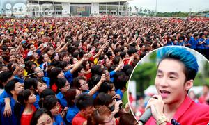 12 nghìn bạn trẻ Hà thành vỡ òa khi thấy Sơn Tùng