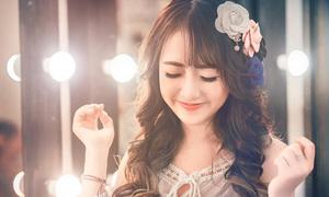 Vũ Quỳnh Anh hóa công chúa với bộ ảnh chụp trong 15 phút
