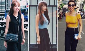 Street style ngày giao mùa của xì ta, hot girl Việt