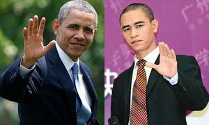 Chàng trai Trung Quốc nổi tiếng vì giống hệt Tổng thống Obama