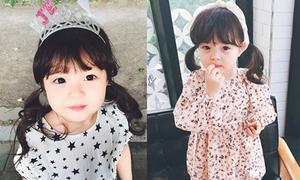 Váy áo, bờm nơ xinh yêu của cô bé lai Hàn - Nhật