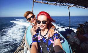 Biển Lý Sơn tuyệt đẹp trong MV mới của Cường Seven
