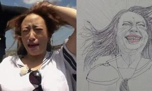 Mỹ nữ Hàn bị 'dìm tơi bời' vì tranh biếm họa