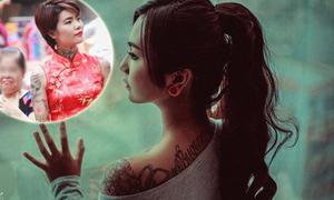 Hội mê tattoo nói về ảnh cô gái xăm hình bị người lớn bĩu môi