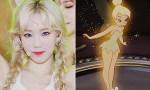 Các công chúa của Disney trong phiên bản Kpop