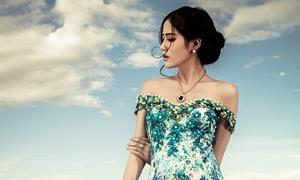 Hoàng Hạnh - thí sinh Hoa hậu Hoàn vũ có vẻ đẹp hiền hòa