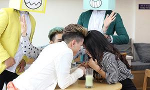 Hoàng Tôn bị 'ma' phá đám khi hôn Sam