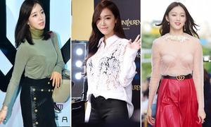 Những lần chọn áo ngực kém duyên của sao Hàn
