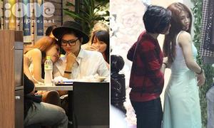Vicky Nhung - Tố Ny tựa đầu, kéo váy cho nhau giữa tin đồn đồng tính