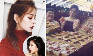 Sao Việt 22/9: Chi Pu giống hệt Hyun Ah, Phương Trinh phát bánh cho người vô gia cư