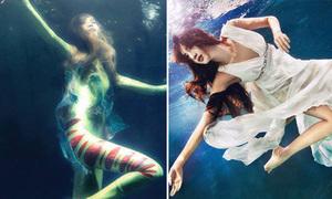 Ảnh dưới nước của VNTM bị chê xấu so với nhiều ảnh cùng concept