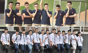 7 trường cấp 3 Hà Nội có đồng phục nam ít 'đụng hàng'
