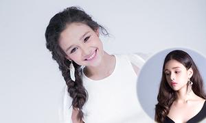 Mẫu lai Việt - Đức 13 tuổi khoe hình mới nhí nhảnh