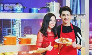 Con trai Hoa hậu Thu Hoài tham gia quản lý nhà hàng khi 19 tuổi