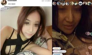 Loạt hot girl bị bóc mẽ nhan sắc qua ứng dụng chat video