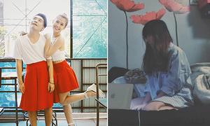 Sao Việt 29/9: Phở mặc váy của Ngọc Thảo, Mie xõa tóc như ma nữ