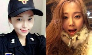 Nữ cảnh sát Hàn xinh xắn từng làm người mẫu