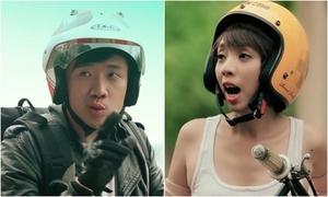 Trấn Thành - Thu Trang quậy banh nóc trong 'Fast and Furious' phiên bản Việt