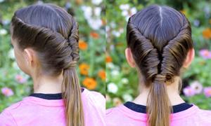 Kết tóc vặn thừng cực đơn giản