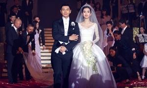 Huỳnh Hiểu Minh đáp trả vì bị đả kích 'đám cưới quá khuếch trương'