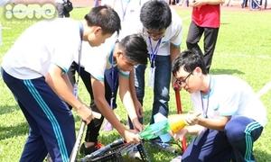 56 trường THPT Sài thành đọ tên lửa nước hoành tráng