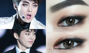 Cô gái Hàn khoe tài trang điểm mắt giống hệt các thần tượng