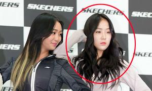 Idol Hàn gây tranh cãi vì làm mặt bí xị ở sự kiện