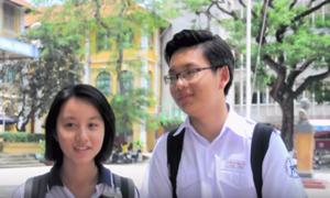 Thầy trò Trần Đại Nghĩa dùng từ siêu ngắn để nói về trường