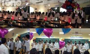 Buổi tặng quà 20/10 hoành tráng như tỏ tình của nam sinh Hà Nội