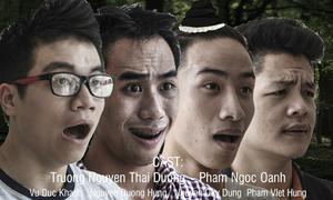 Sinh viên Báo chí chế poster phim kinh dị